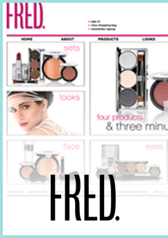 Ecommerce_ FRED. beauty website